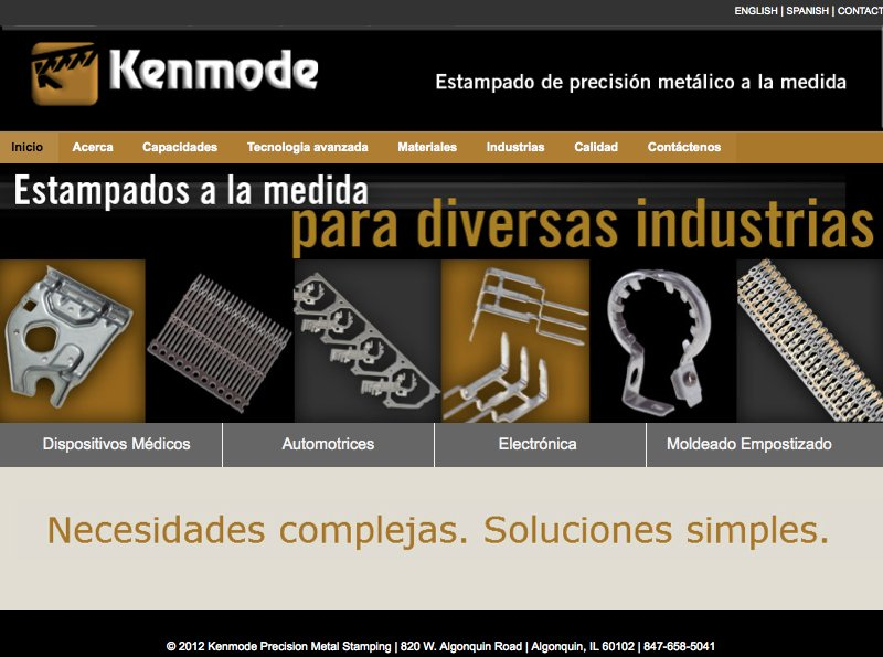 metal stamping spanish site