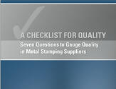 """Download """"Checklist for Quality"""" eBook"""